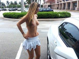 Staci Silverstone Public Nakedness